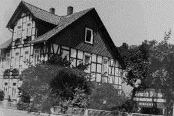 Erster Sitz der Firma in der Eisensteinstraße.