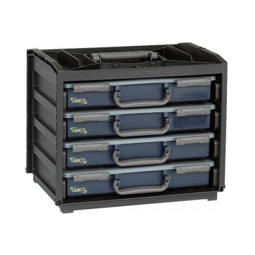 Raaco HandyBox 55x4 (bestueckt & versandkostenfrei), 136242