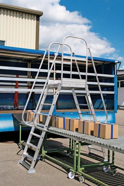 Günzburger Aluminium-Überbrückung, 4 Stufen, 303404