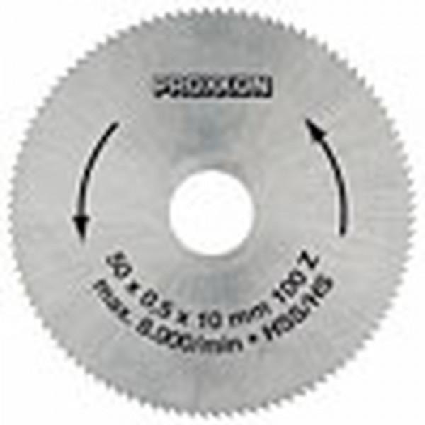 Proxxon Kreissägeblatt, HSS, 50 mm (100 Zähne), 28020