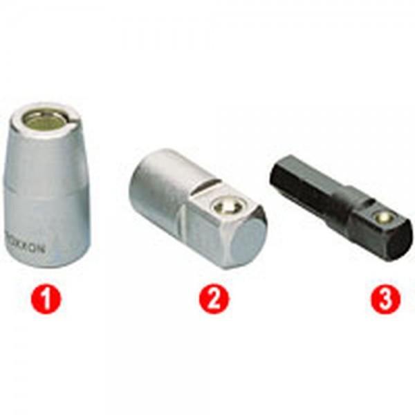 """50 mm Bosch Adapter zu Steckschlüsseleinsätze 1//4/"""" Innensechskant"""