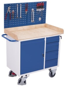 VARIOfit Werkzeugwand für Werkstattwagen, zsw-100.501