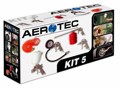 Aerotec Druckluftset 5 tlg.