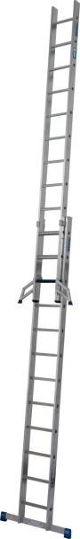 STABILO SchiebeLeiter + S (Sicherheit) 2x12 Sprossen/Stufen, 131621