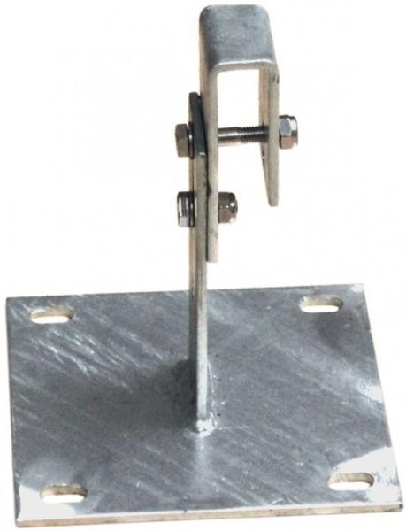 STABILO Ortsfeste Leitern, Systemteile, Maueranker 200-270 mm, große Grundplatte, 835260