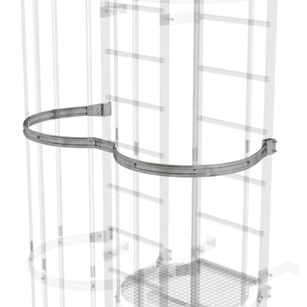 Günzburger Rückenschutzbügel versetzte Ausführung Stahl verzinkt, 63963