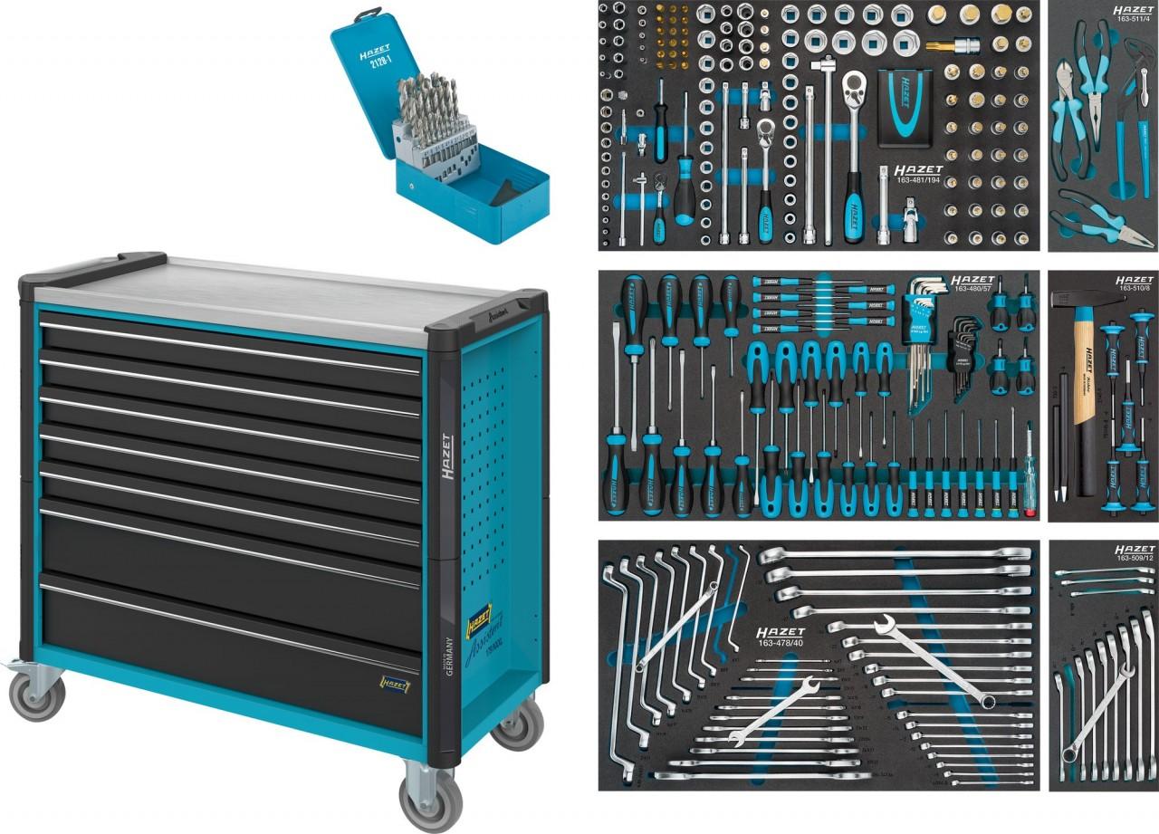HAZET Werkstattwagen Assistent 179NXXL-7/340 | Dittmar - Werkzeuge
