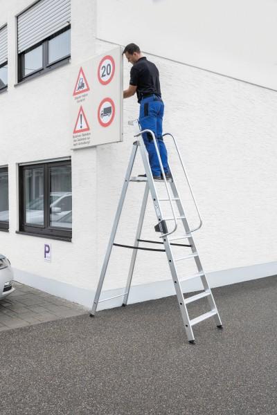 Günzburger Aluminium-Stehleiter 8 Stufen, 50088