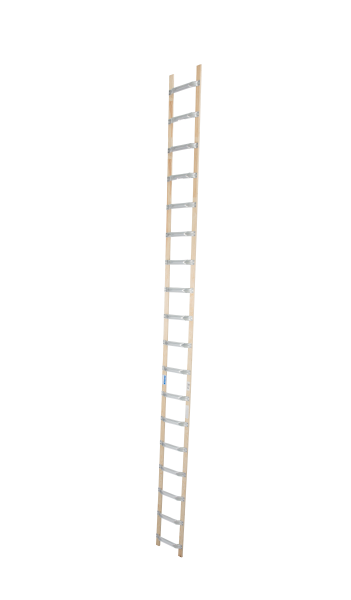 DachLeiter Alu-Holz 1x18 Spr.