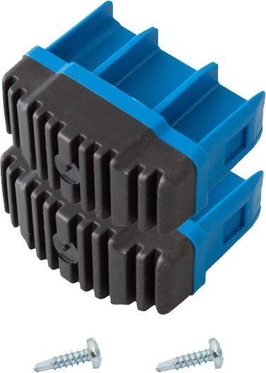 STABILO Fußstopfen (Paar) 64x25 mm, blau, 211002