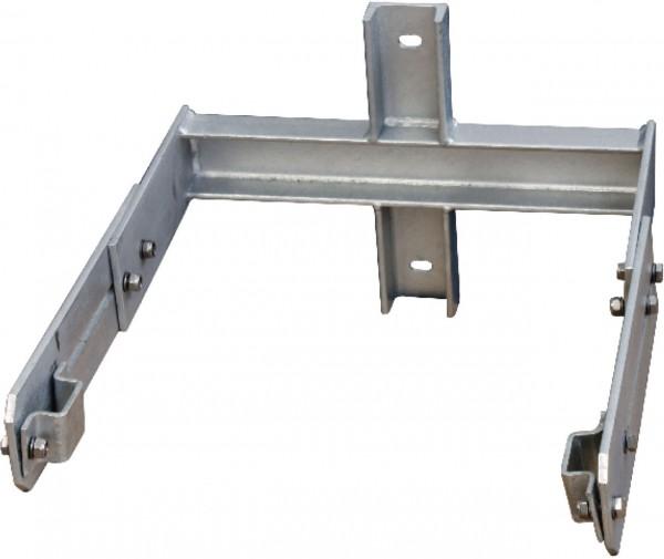 STABILO Ortsfeste Leitern, Systemteile, Maueranker für Stütze 350-550mm für Stahl, 837561