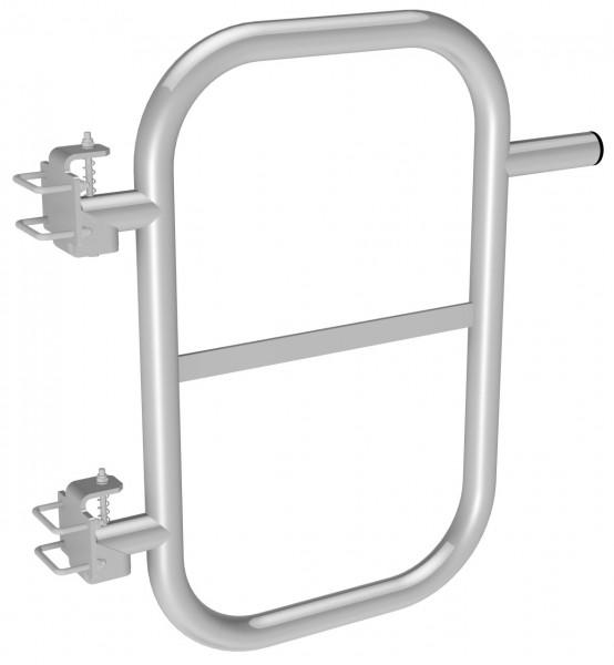 STABILO Ortsfeste Leitern, Systemteile, Durchgangssperre für Steigleitern, Stahl verzinkt, 837028