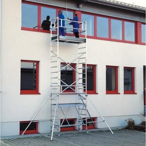 Guenzburger Klappgeruest PL-Hoehe 6,80m Groesse 0,75x1,80m, 115168