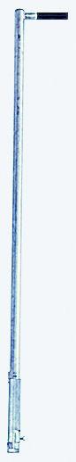 STABILO Einstiegshilfe, Haltestange mit einseitigem Griff, Edelstahl V4A, 816436