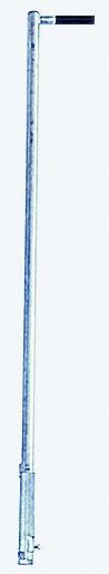 STABILO Einstiegshilfe, Haltestange mit einseitigem Griff, Stahl verzinkt, 816443