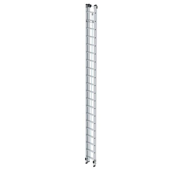 Günzburger Steigtechnik Aluminium-Seilzugleiter 2 x 20 Sprossen, 21220