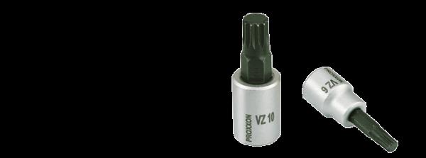 """100 mm lang PROXXON 1//2/"""" Vielzahn-Einsatz 14 mm"""