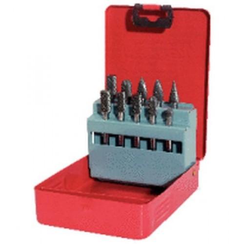 KS Tools 515.3203 HM Fr/ässtift-Satz in Stahlblechkassette 3-tlg.