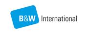 B & W international