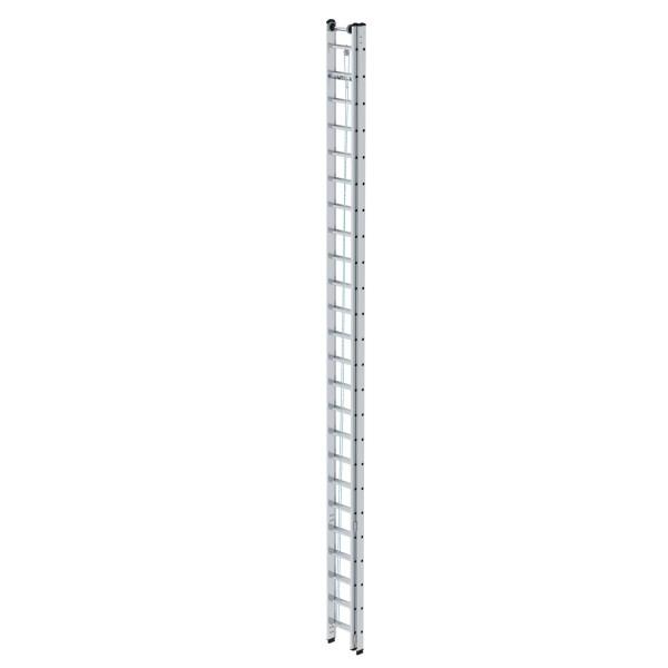 Günzburger Aluminium-Seilzugleiter 2 x 24 Sprossen, 21224