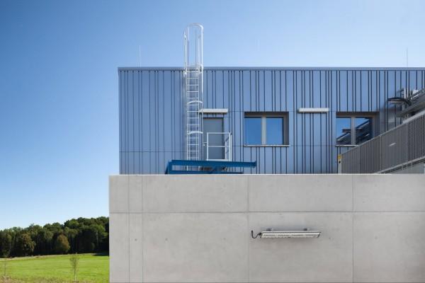 Günzburger Einzügige Steigleiter Aluminium eloxiert, 500200