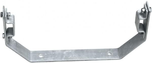 STABILO Ortsfeste Leitern, Systemteile, Maueranker, starr, V-Form, 150 mm für Aluminium, 838155