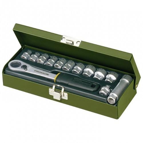 Proxxon Werkstatt-Spezialsatz, 5.5 bis 14 mm (13-tlg.), 1/4, NO 23602