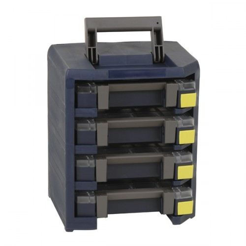 Raaco HandyBoxxser 4x4x4 (bestueckt), 137942