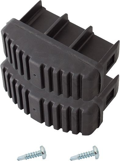Ableitfähige Fußstopfen (Paar) 77x25 mm, schwarz, 212603
