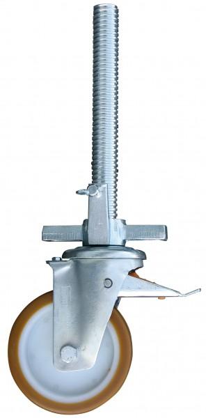 STABILO Fahrrolle 150 mm gum.verstellbar