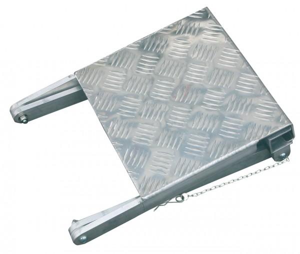 STABILO Multifunktions-Sicherung, Rutschsichere Plattform aus Alu- Riffelblech zur Vergrößerung der Standfläche, Artikel-Nr.: 832085