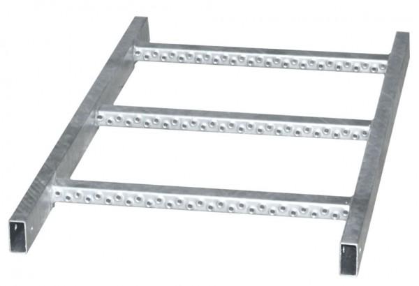 STABILO Ortsfeste Leitern, Systemteile, Leiternteil 0,84 m Aluminium, 838308