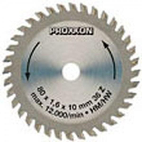 Proxxon Kreissägeblatt, HM-bestückt, 80 mm, 36 Zähne, 28732