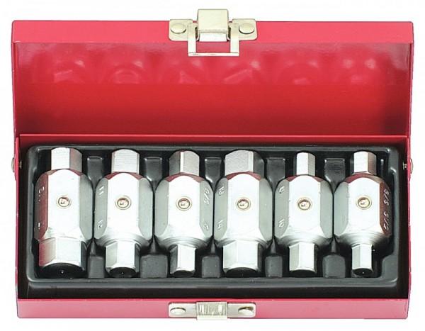 KS Tools Stecknuss f.Ölablassschraube,4-kant,8mm+3/8, 150.9393