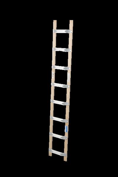 DachLeiter Alu-Holz 1x8 Spr.