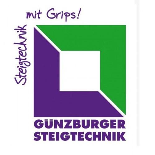 Guenzburger Handlauf am Aufstieg fuer Podestleitern 3-stufig, 50214