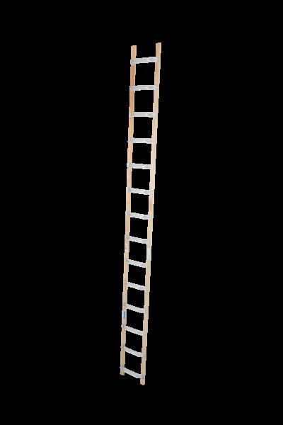 DachLeiter Alu-Holz 1x14 Spr.