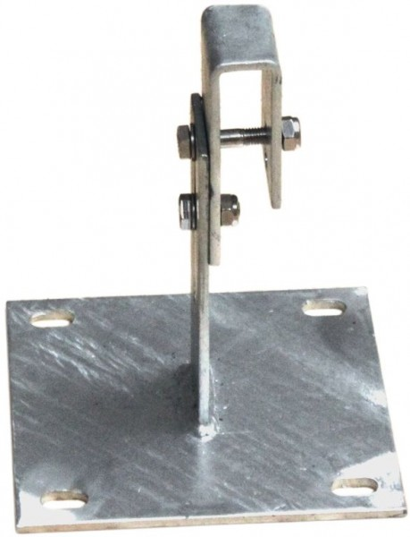 STABILO Ortsfeste Leitern, Systemteile, Maueranker, verstellbar, 100-150 mm, große Grundplatte, Artikel-Nr.: 835253