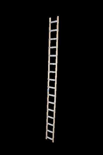 DachLeiter Alu-Holz 1x16 Spr.