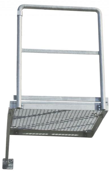 STABILO Ortsfeste Leitern, Systemteile, Erweiterungspodest, 1000 x 1000 mm, 837004
