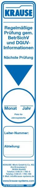 STABILO Prüfaufkleber für Leitern und Tritte, 817006