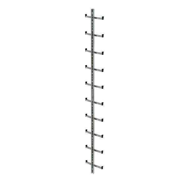 Günzburger Einholmleiter Länge 2,80m Stahl verz, 77535