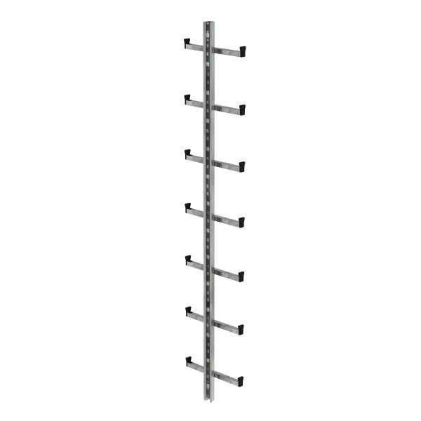 Günzburger Einholmleiter Länge 1,96m Stahl verz, 77534