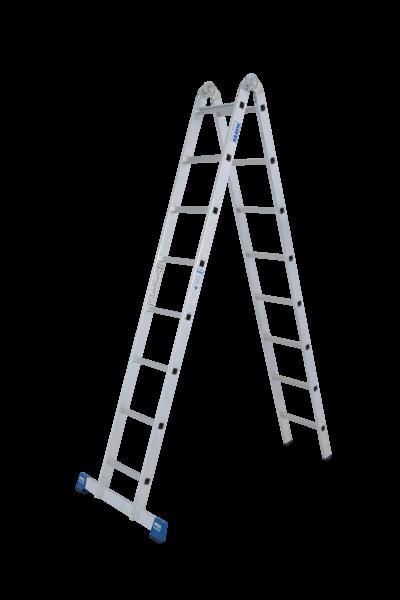 STABILO Gelenk-DoppelLeiter 2x8 Spr.