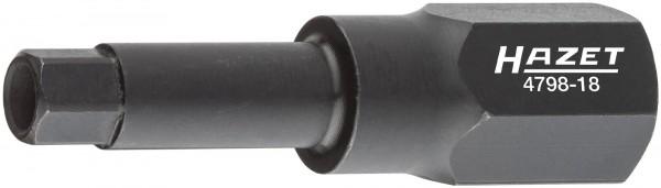 HAZET Spezial-Schraubendreher-Steckschlüsseleinsatz für Magnetventil-Verschraubung 4798-18