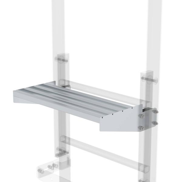 Günzburger Ausstiegstritt Alu blank Spaltmaß 250mm, 62969