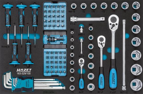 *Hazet Werkzeug-Sortiment 163-329/100