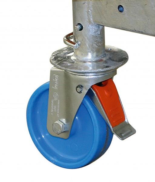 Fahrrollensatz (4 Stück) 125 mm CT