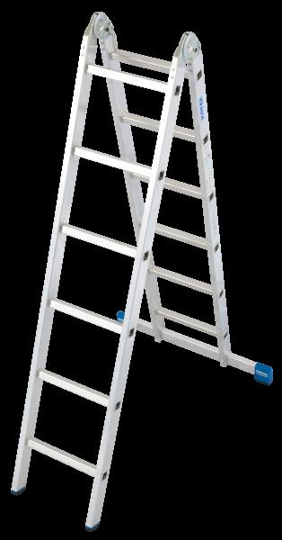 STABILO Gelenk-DoppelLeiter 2x6 Spr.