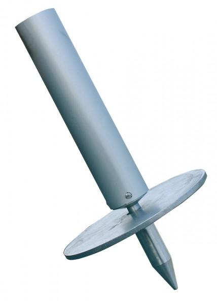 STABILO Stützplatte mit Erdspitze; Ø 150 mm, für den Einsatz auf gewachsenem Boden, 832047